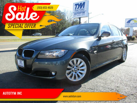 2009 BMW 3 Series for sale at AUTOTYM INC in Fredericksburg VA