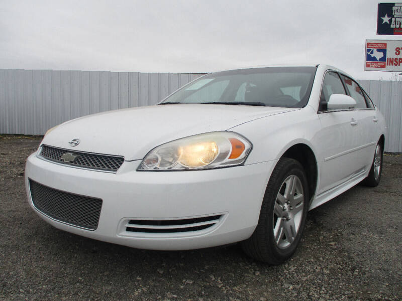2012 Chevrolet Impala for sale at Texas Country Auto Sales LLC in Austin TX