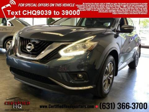 2015 Nissan Murano for sale at CERTIFIED HEADQUARTERS in Saint James NY