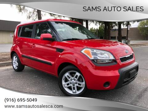 2011 Kia Soul for sale at Sams Auto Sales in North Highlands CA
