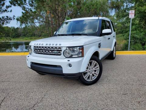 2011 Land Rover LR4 for sale at Excalibur Auto Sales in Palatine IL