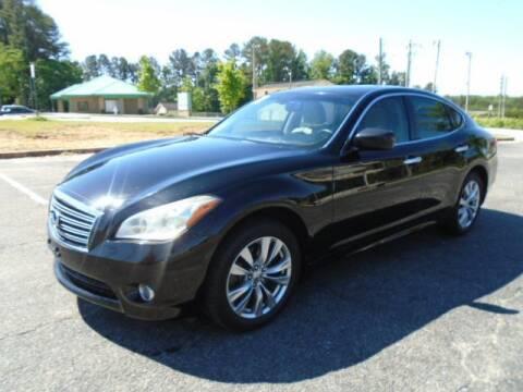 2012 Infiniti M37 for sale at Atlanta Auto Max in Norcross GA