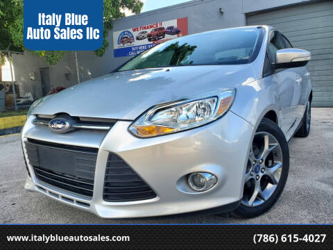 2014 Ford Focus for sale at Italy Blue Auto Sales llc in Miami FL