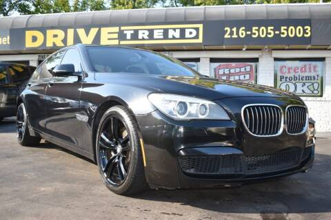 2013 BMW 7 Series for sale at DRIVE TREND in Cleveland OH