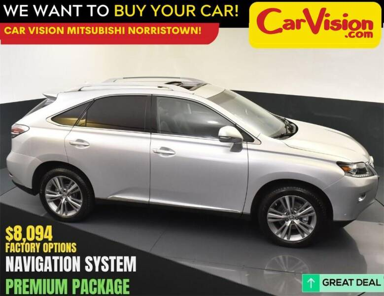 2015 Lexus RX 350 for sale at Car Vision Mitsubishi Norristown in Norristown PA