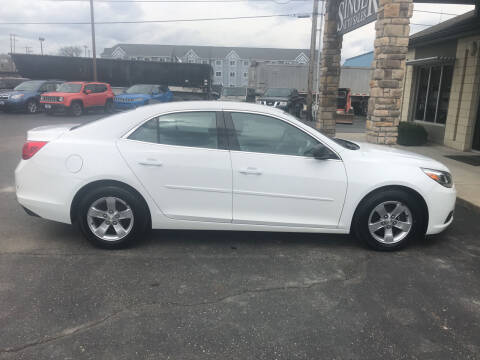2013 Chevrolet Malibu for sale at Singer Auto Sales in Caldwell OH