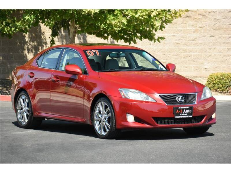 2007 Lexus IS 250 for sale at A-1 Auto Wholesale in Sacramento CA