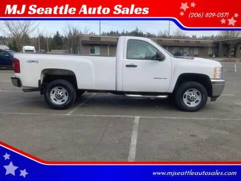 2011 Chevrolet Silverado 2500HD for sale at MJ Seattle Auto Sales in Kent WA