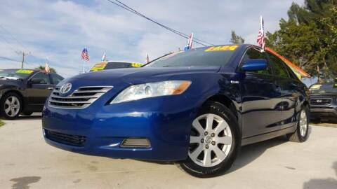 2008 Toyota Camry Hybrid for sale at GP Auto Connection Group in Haines City FL