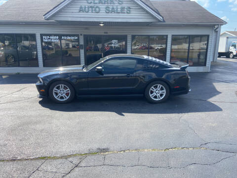 2012 Ford Mustang for sale at Clarks Auto Sales in Middletown OH