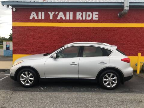2008 Infiniti EX35 for sale at Big Daddy's Auto in Winston-Salem NC