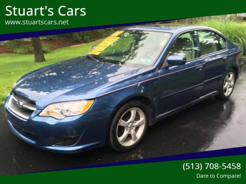 2008 Subaru Legacy for sale at Stuart's Cars in Cincinnati OH