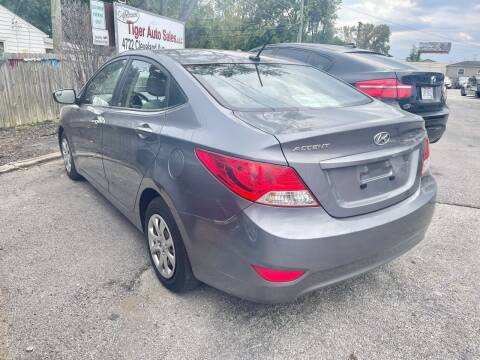 2014 Hyundai Accent for sale at Tiger Auto Sales in Columbus OH