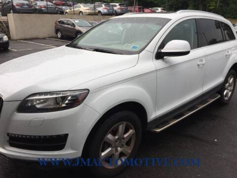 2013 Audi Q7 for sale at J & M Automotive in Naugatuck CT