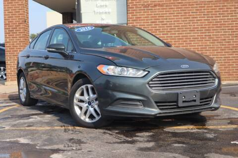 2016 Ford Fusion for sale at Hobart Auto Sales in Hobart IN