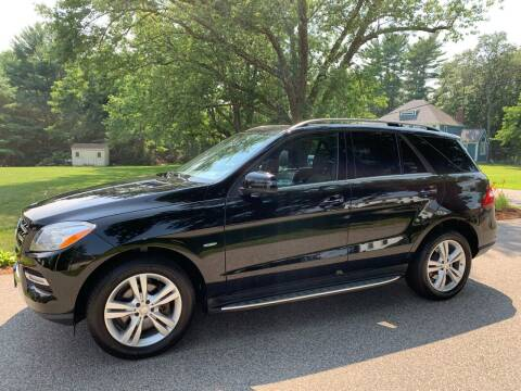 2012 Mercedes-Benz M-Class for sale at 41 Liberty Auto in Kingston MA