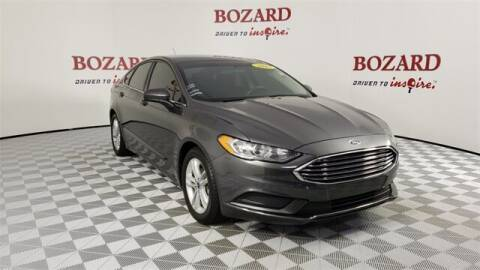 2018 Ford Fusion for sale at BOZARD FORD in Saint Augustine FL