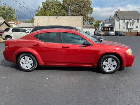 2009 Dodge Avenger for sale at E & A Auto Sales in Warren OH