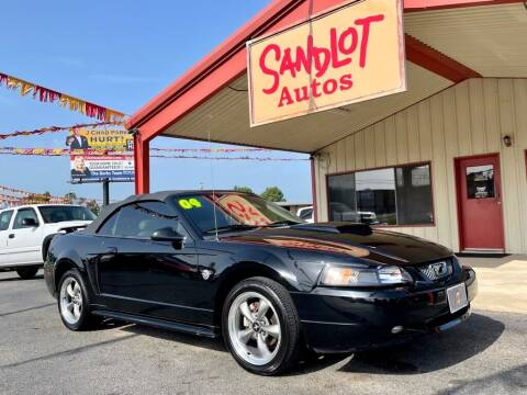 2004 Ford Mustang for sale at Sandlot Autos in Tyler TX