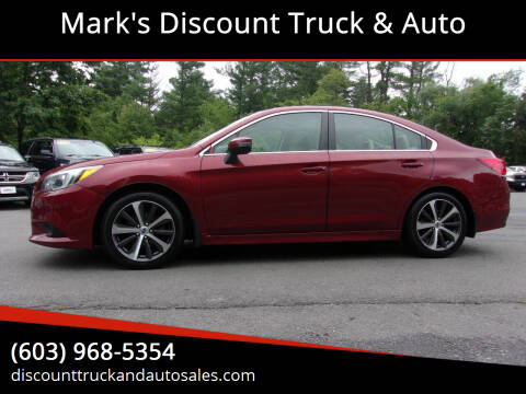 2015 Subaru Legacy for sale at Mark's Discount Truck & Auto in Londonderry NH