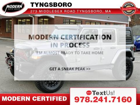 2018 Jeep Wrangler Unlimited for sale at Modern Auto Sales in Tyngsboro MA