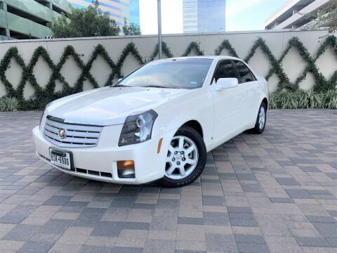 2006 Cadillac CTS for sale at ROGERS MOTORCARS in Houston TX