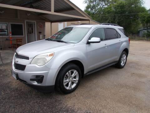 2012 Chevrolet Equinox for sale at DISCOUNT AUTOS in Cibolo TX