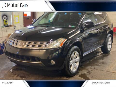 2004 Nissan Murano for sale at JK Motor Cars in Pittsburgh PA