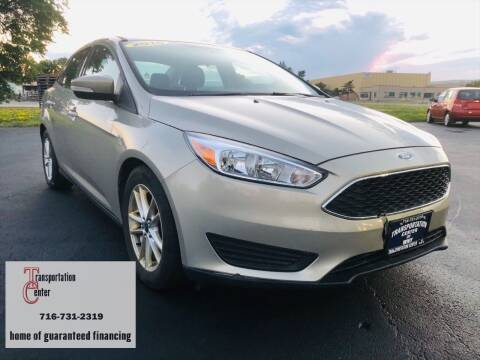 2016 Ford Focus for sale at Transportation Center Of Western New York in Niagara Falls NY