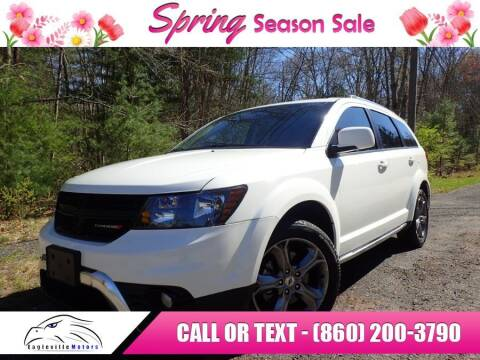 2018 Dodge Journey for sale at EAGLEVILLE MOTORS LLC in Storrs CT