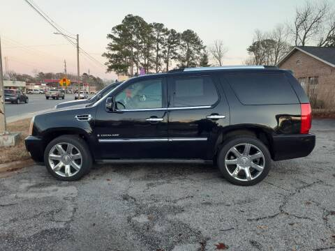 2009 Cadillac Escalade for sale at PIRATE AUTO SALES in Greenville NC