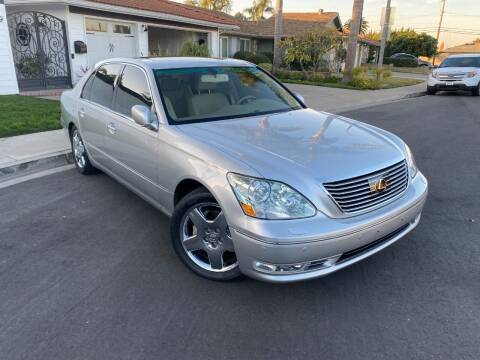 2005 Lexus LS 430 for sale at SoCal Motors in Los Alamitos CA