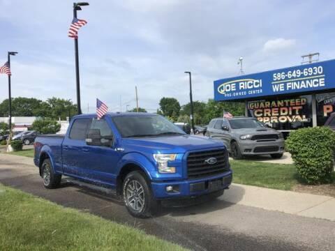 2016 Ford F-150 for sale at JOE RICCI AUTOMOTIVE in Clinton Township MI