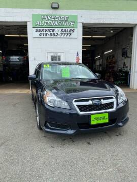 2013 Subaru Legacy for sale at Pikeside Automotive in Westfield MA
