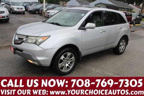 2007 Acura MDX for sale at Your Choice Autos in Posen IL