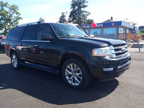 2015 Ford Expedition EL for sale at All American Motors in Tacoma WA
