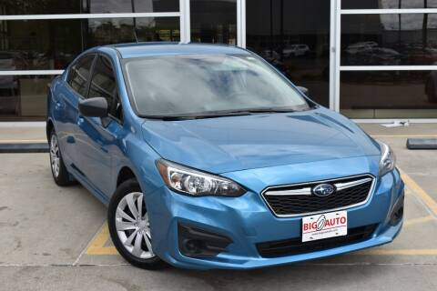 2018 Subaru Impreza for sale at Big O Auto LLC in Omaha NE