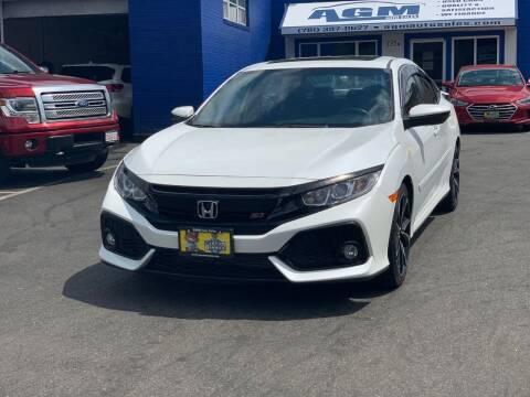 2017 Honda Civic for sale at AGM AUTO SALES in Malden MA