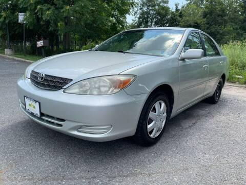 2003 Toyota Camry for sale at Crazy Cars Auto Sale in Jersey City NJ