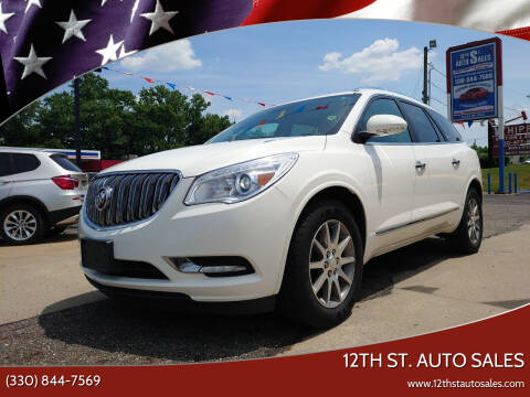 2015 Buick Enclave for sale at 12th St. Auto Sales in Canton OH