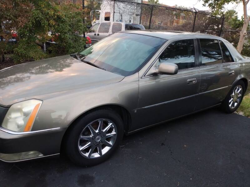 2010 Cadillac DTS for sale at LAND & SEA BROKERS INC in Deerfield FL