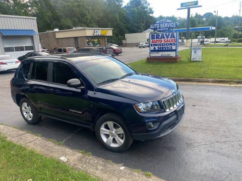 2016 Jeep Compass for sale at BRAVA AUTO BROKERS LLC in Clarkston GA