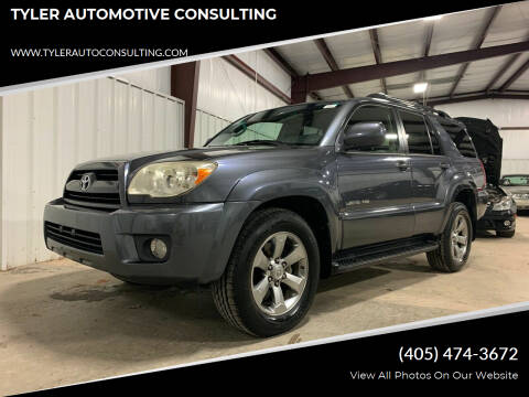 2008 Toyota 4Runner for sale at TYLER AUTOMOTIVE CONSULTING in Yukon OK