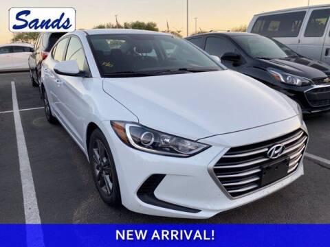 2018 Hyundai Elantra for sale at Sands Chevrolet in Surprise AZ