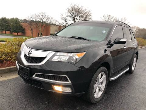 2011 Acura MDX for sale at William D Auto Sales in Norcross GA