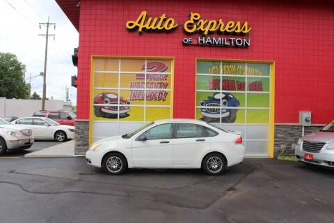 2010 Ford Focus for sale at AUTO EXPRESS OF HAMILTON LLC in Hamilton OH