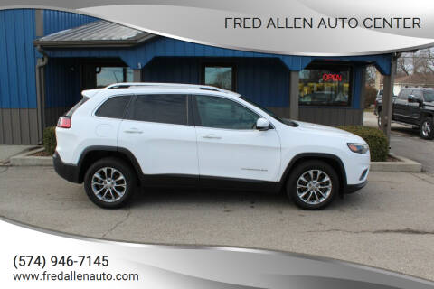 2019 Jeep Cherokee for sale at Fred Allen Auto Center in Winamac IN