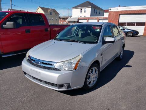 2008 Ford Focus for sale at A J Auto Sales in Fall River MA