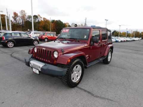 2010 Jeep Wrangler Unlimited for sale at Paniagua Auto Mall in Dalton GA
