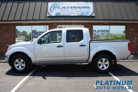 2010 Nissan Frontier for sale at Platinum Auto World in Fredericksburg VA